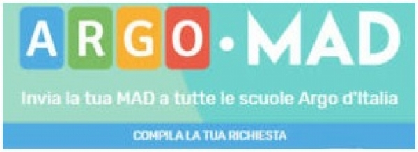 Procedura di inserimento ARGO MAD